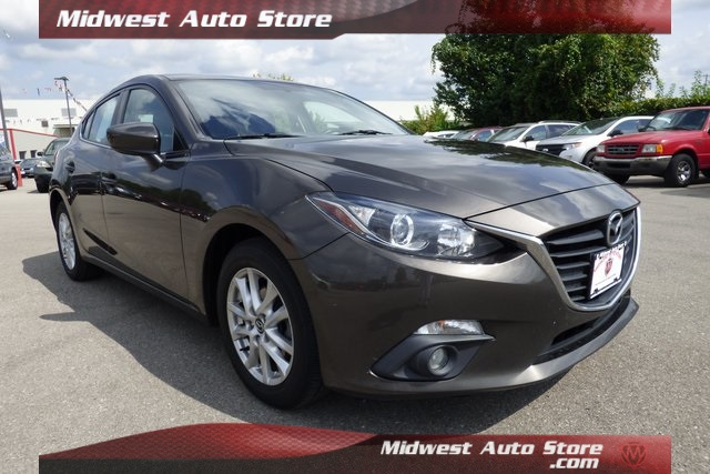 Pre-Owned 2015 Mazda3 i Grand Touring w/ Leather, Navigation, Sunroof